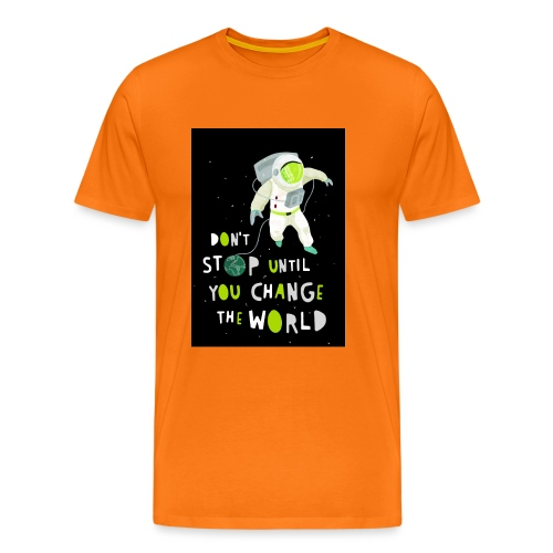 Change the world black - Männer Premium T-Shirt