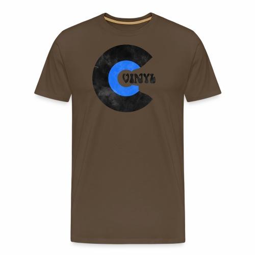 Vinyl Schallplatte Retro - Männer Premium T-Shirt