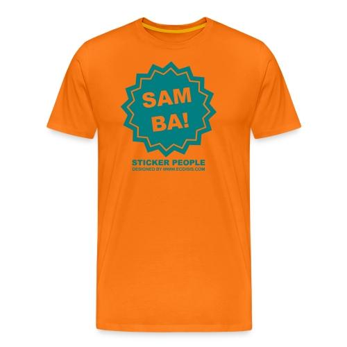 stickersamba - Camiseta premium hombre
