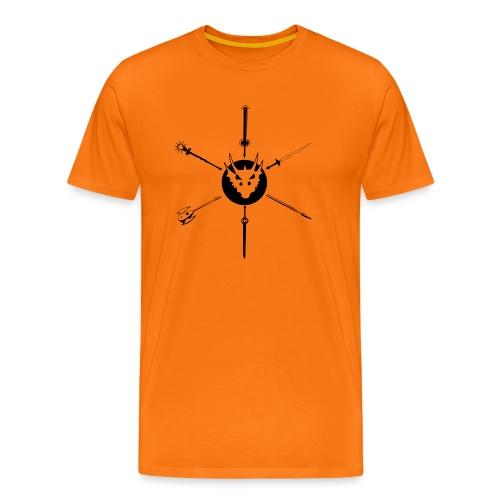 Flag of the Morning Star - Premium T-skjorte for menn