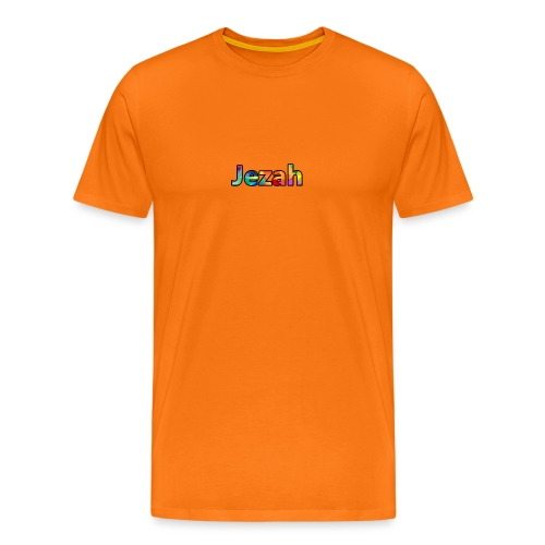 jezah merch text - Men's Premium T-Shirt