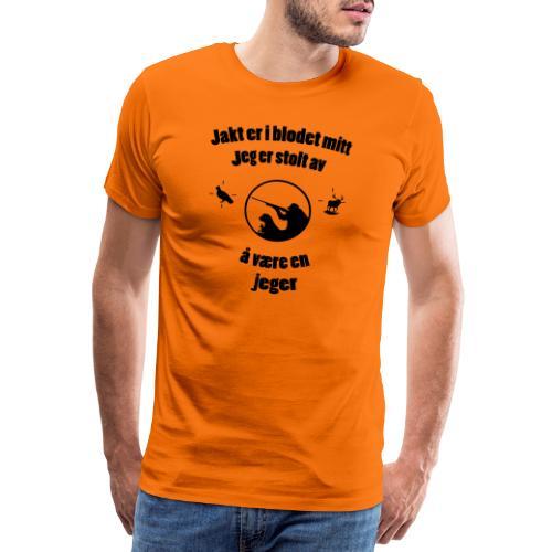 Stolt jeger - Men's Premium T-Shirt