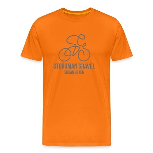 Storuman Gravel / grå - Premium-T-shirt herr