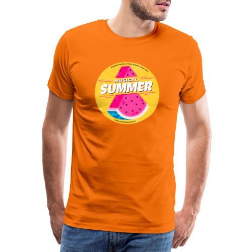 Musical Summer - Maglietta Premium da uomo