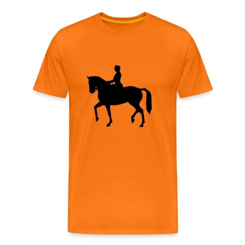 Dressuur 1C - Mannen Premium T-shirt