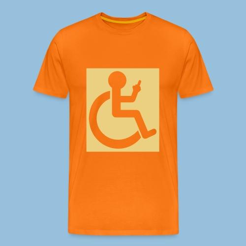 VINGER - Mannen Premium T-shirt