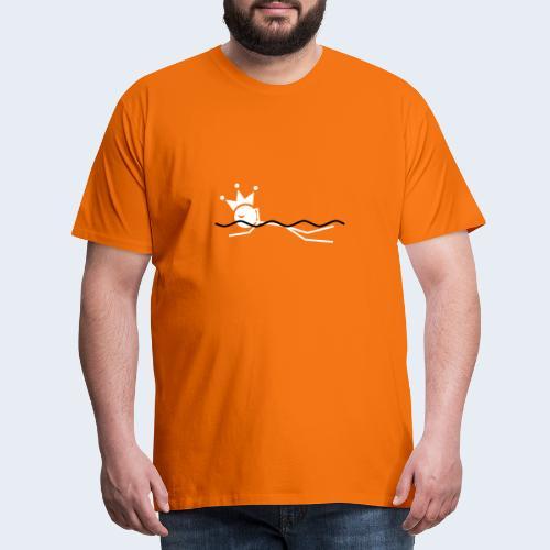 Zwemkoning - Mannen Premium T-shirt