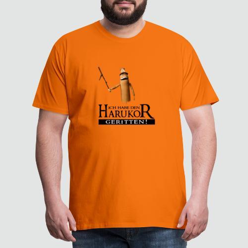 TubeHeads Ich habe den Harukor geritten - Männer Premium T-Shirt