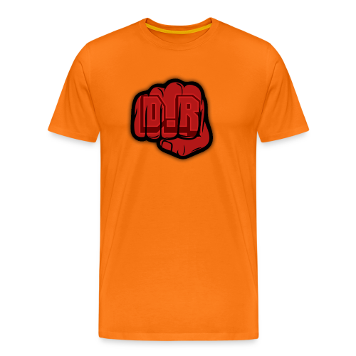 DigitalRelic Big Fist Logo - Premium-T-shirt herr