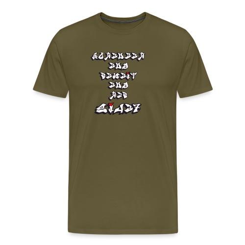 Para el Espejo:RECUERDA SER FELIZ - Camiseta premium hombre
