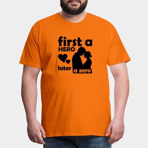 GHB from Hero to Zero 19032018 6 FA - Männer Premium T-Shirt