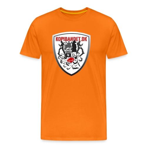 KopiBandet.DK Våbenskjold - Herre premium T-shirt