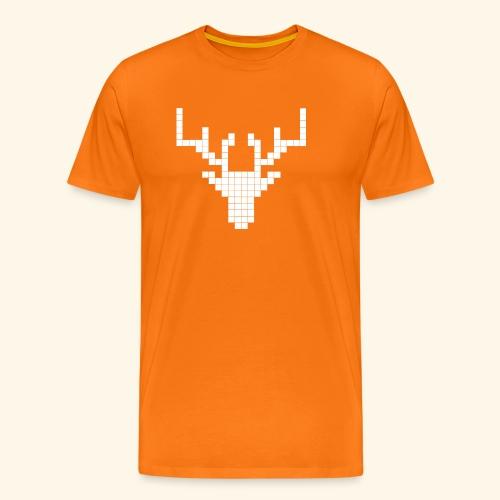 PIXELHIRSCH - only - Männer Premium T-Shirt
