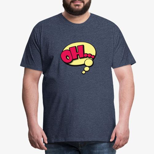Serie Animados - Camiseta premium hombre