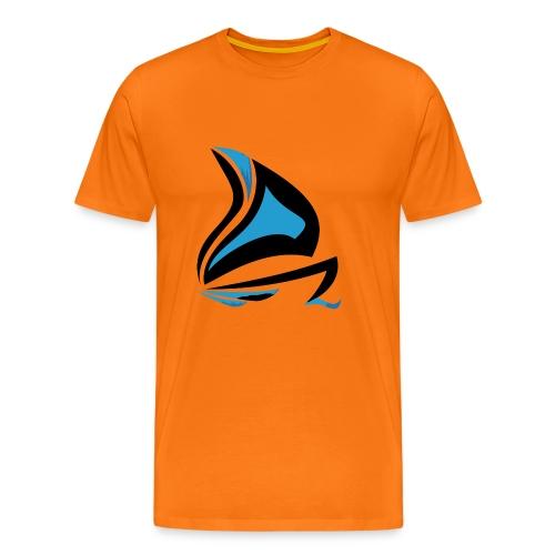 Les Férus de voile et moteur - T-shirt Premium Homme