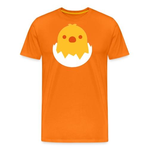 CUTE CHICKEN - EMOJI / SMILEY - Männer Premium T-Shirt
