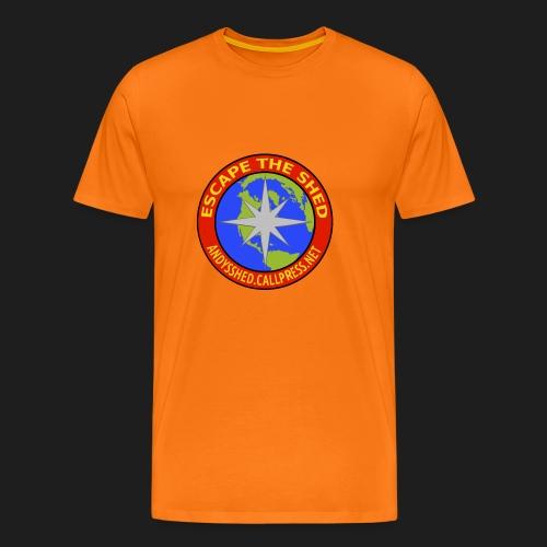 Escape The Shed Badge - Men's Premium T-Shirt