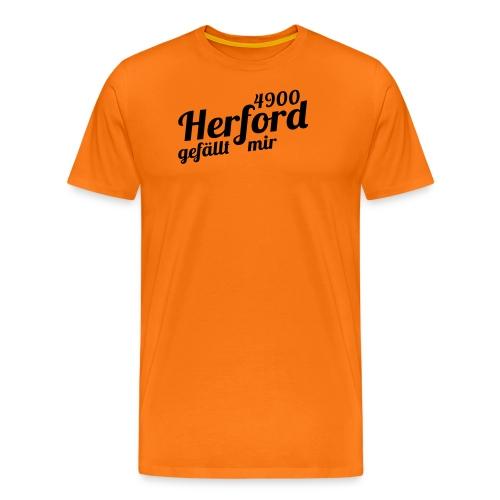 finalprint4900 - Männer Premium T-Shirt