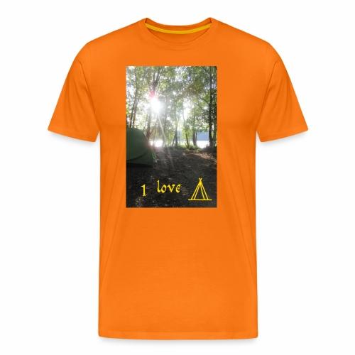 camping - Mannen Premium T-shirt