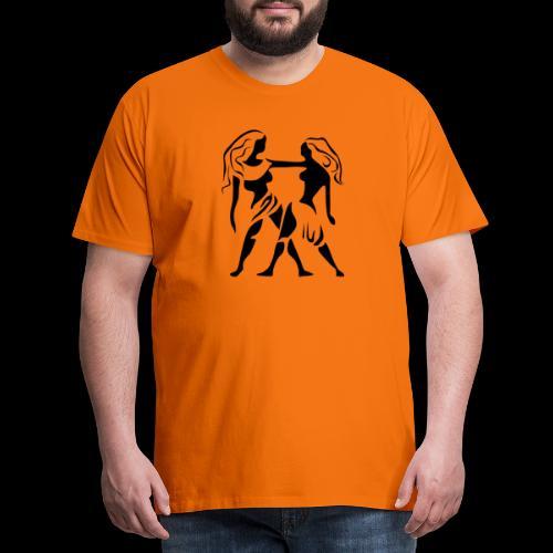 STERNZEICHEN ZWILLING - Männer Premium T-Shirt