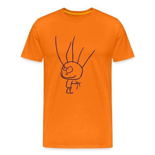 BARNTECKNING - Premium-T-shirt herr