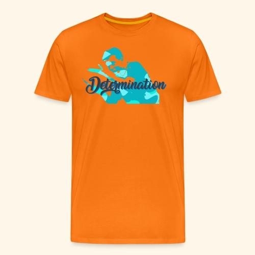 Determination to win the Championship - Männer Premium T-Shirt
