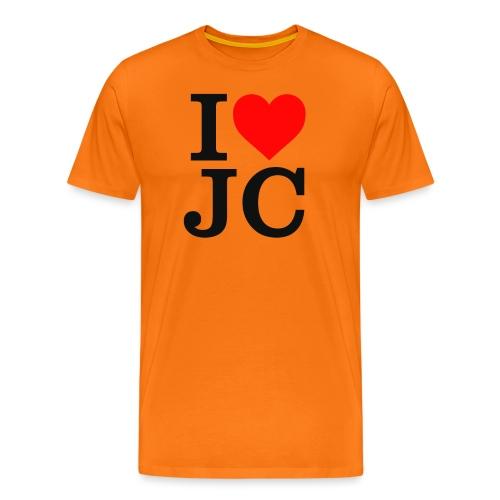 I Heart JC - Men's Premium T-Shirt