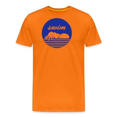 swim! Schwimmer Kraulen - Männer Premium T-Shirt