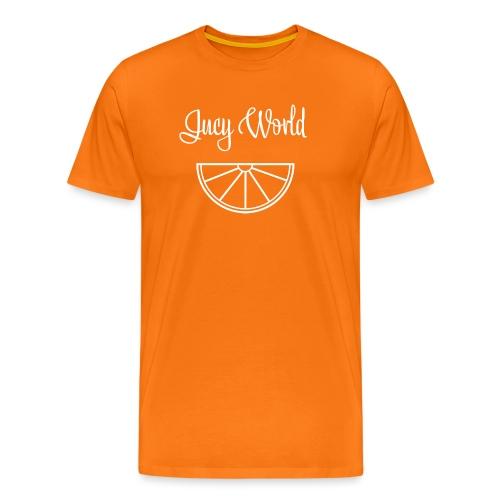 Jucy World - Citrus Design - Männer Premium T-Shirt