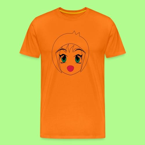 Anime girl T-Shirt - Men's Premium T-Shirt