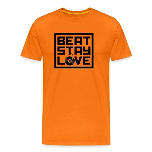 Beat.Stay.Love - Männer Premium T-Shirt