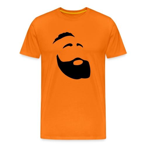 Il Barba, the Beard black - Maglietta Premium da uomo