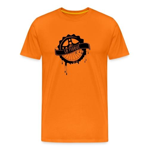 logo Le rideur du 45 noir - T-shirt Premium Homme