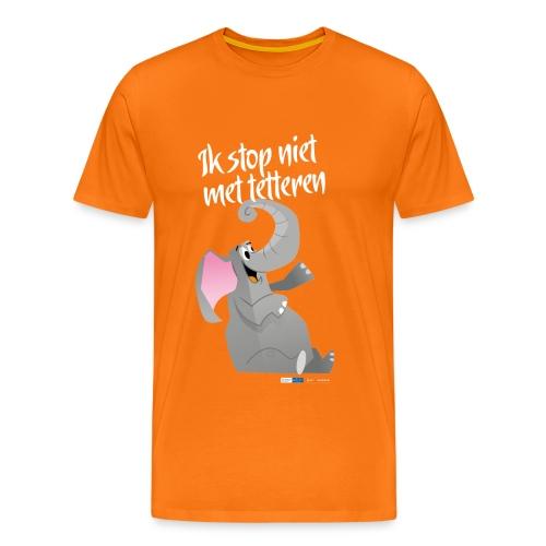 ikstopnietmettetteren - Mannen Premium T-shirt