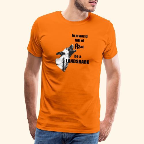 Landshark - Men's Premium T-Shirt