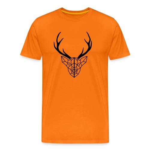 deer antler - Men's Premium T-Shirt