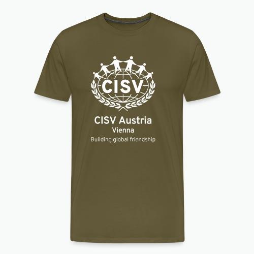 Vienna PORTRAIT BLK - Männer Premium T-Shirt