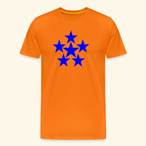5 STAR blau - Männer Premium T-Shirt