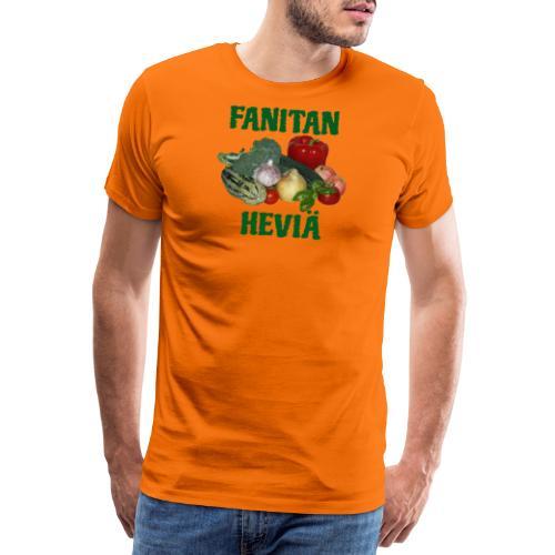 Fanitan heviä - Miesten premium t-paita