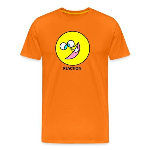 REACTION - Maglietta Premium da uomo