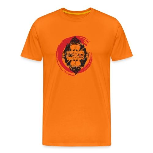 Scimmia_cambia_1 monkey - Maglietta Premium da uomo