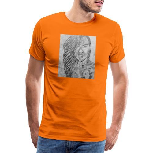 Jyrks_kunstdesign - Herre premium T-shirt