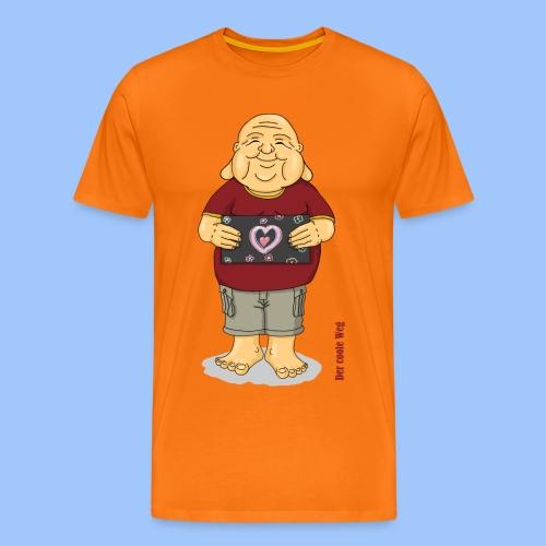 Herz - Männer Premium T-Shirt
