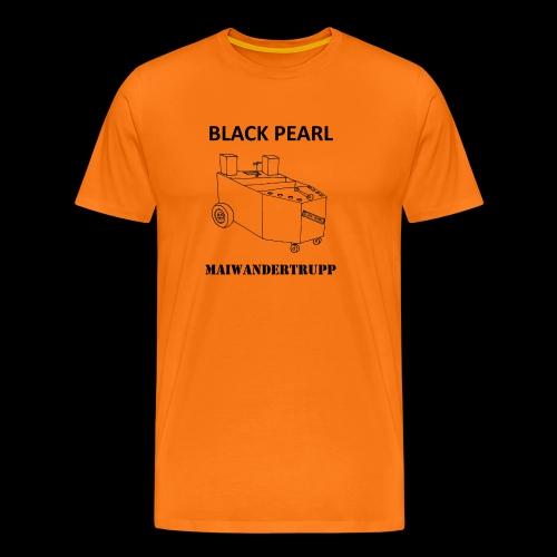 Bollerwagenemblem + MAIWANDERTRUPP - Männer Premium T-Shirt