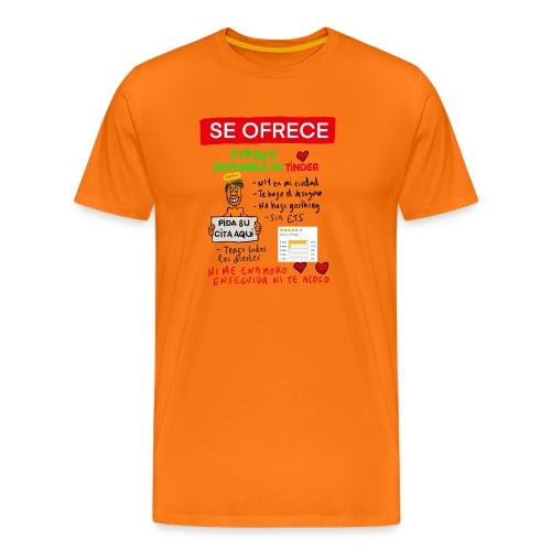 Camiseta humor para ligar por la calle - Camiseta premium hombre