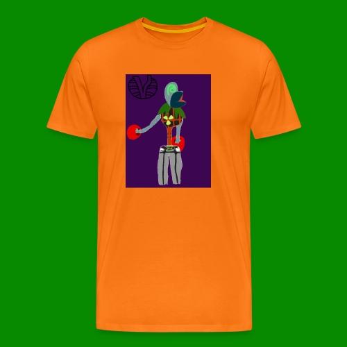 Cartoon Boxer - Premium-T-shirt herr