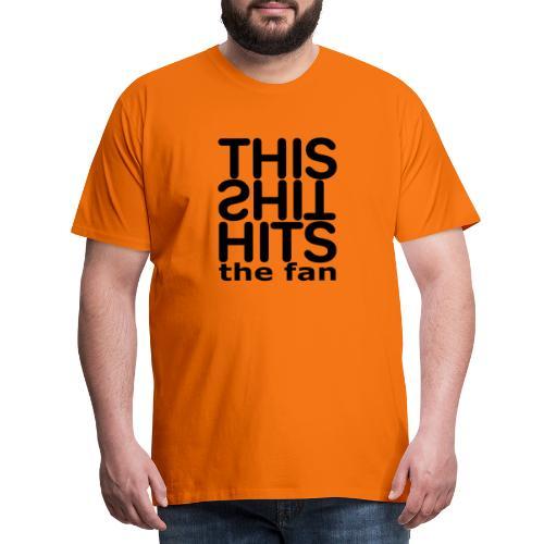 TSHTF BLACK - Camiseta premium hombre