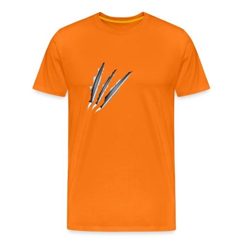 Klauwen - Mannen Premium T-shirt