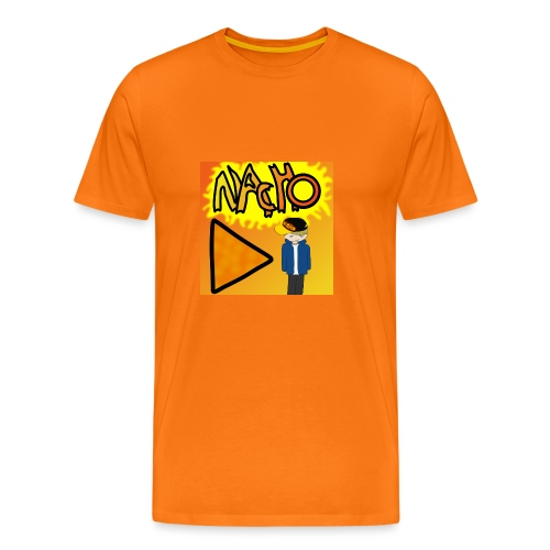 Nacho Title with Little guy - Men's Premium T-Shirt