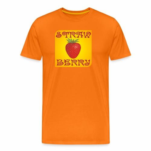 Strawberry (fraise) - T-shirt Premium Homme